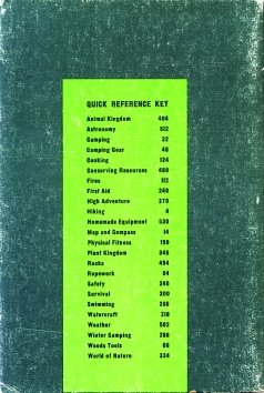 2nd Edition, 1967-84, printings 1-5 back cover