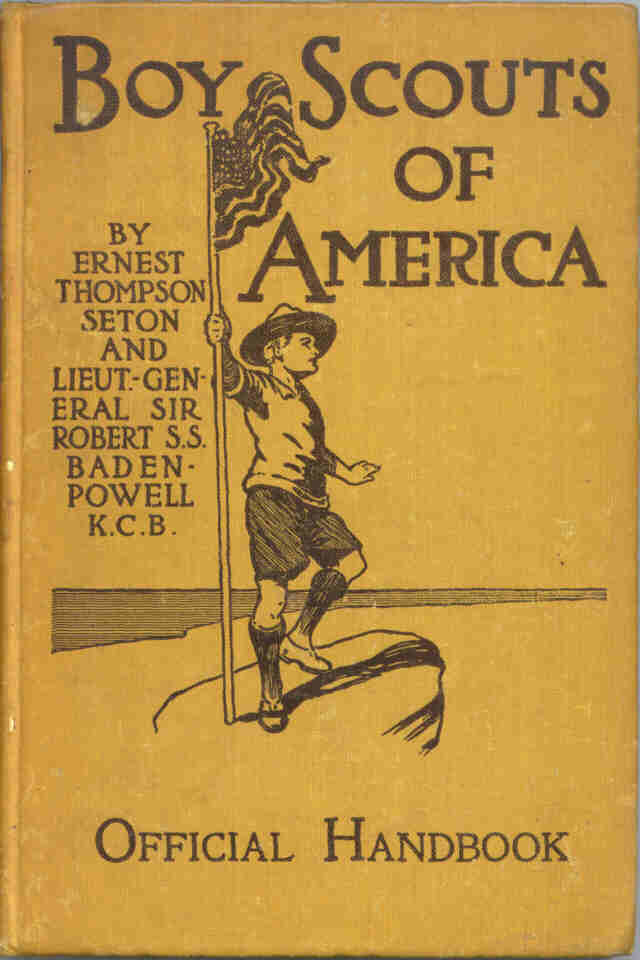 History of the boy scout handbook bsa original edition boy scout handbook fandeluxe Choice Image