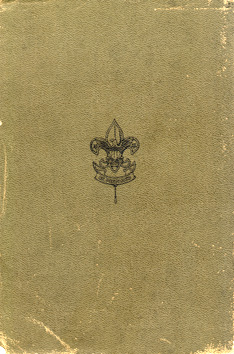 1st Edition, standard back cover (olive drab background)