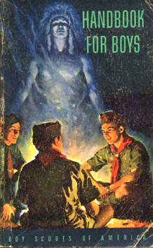 Boy Scout Handbook used in 1952