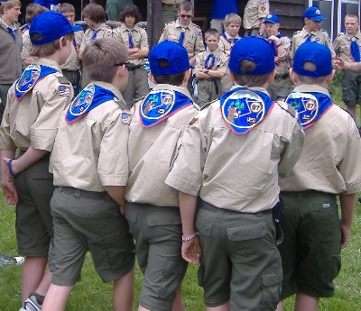 Troop 97 at summer camp