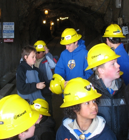 Preparing to Explore a silver & gold mine that dates from the 1870's