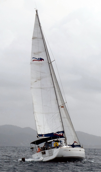 Sailing in the British Virgin Islands