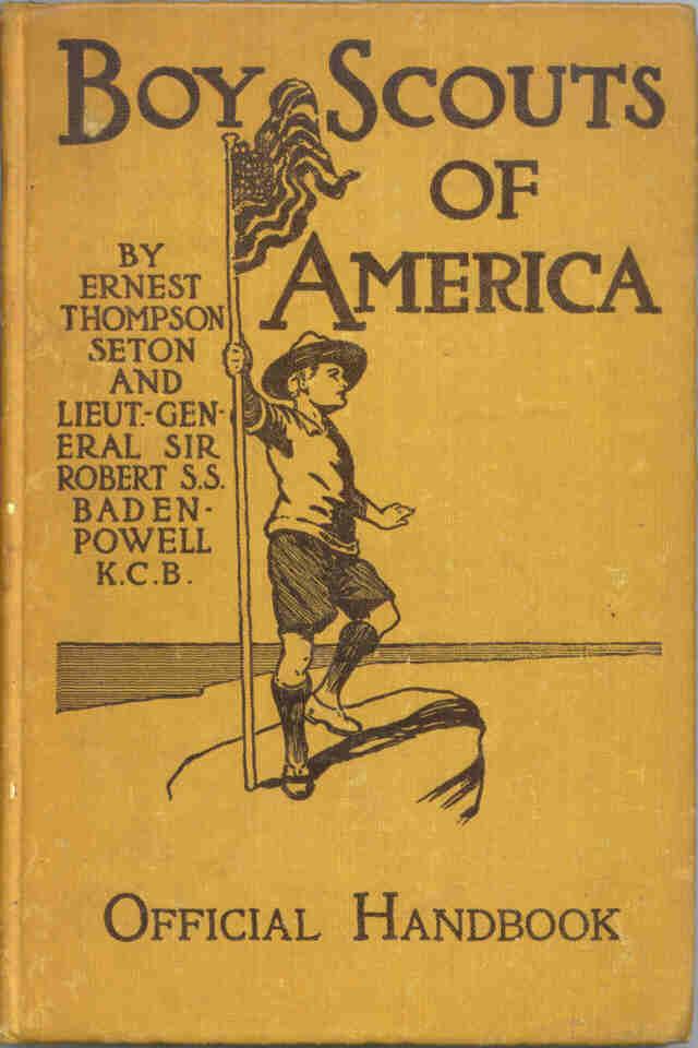 History of the Boy Scout Handbook (BSA)